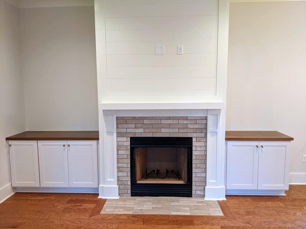 1 Hamlet Row Fireplace