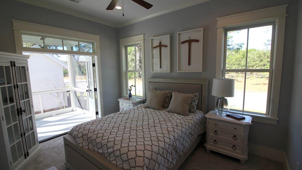 2 Hamlet Row Bedroom
