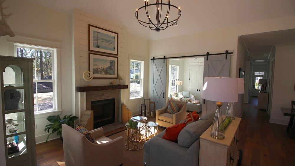 2 Hamlet Row Living Room