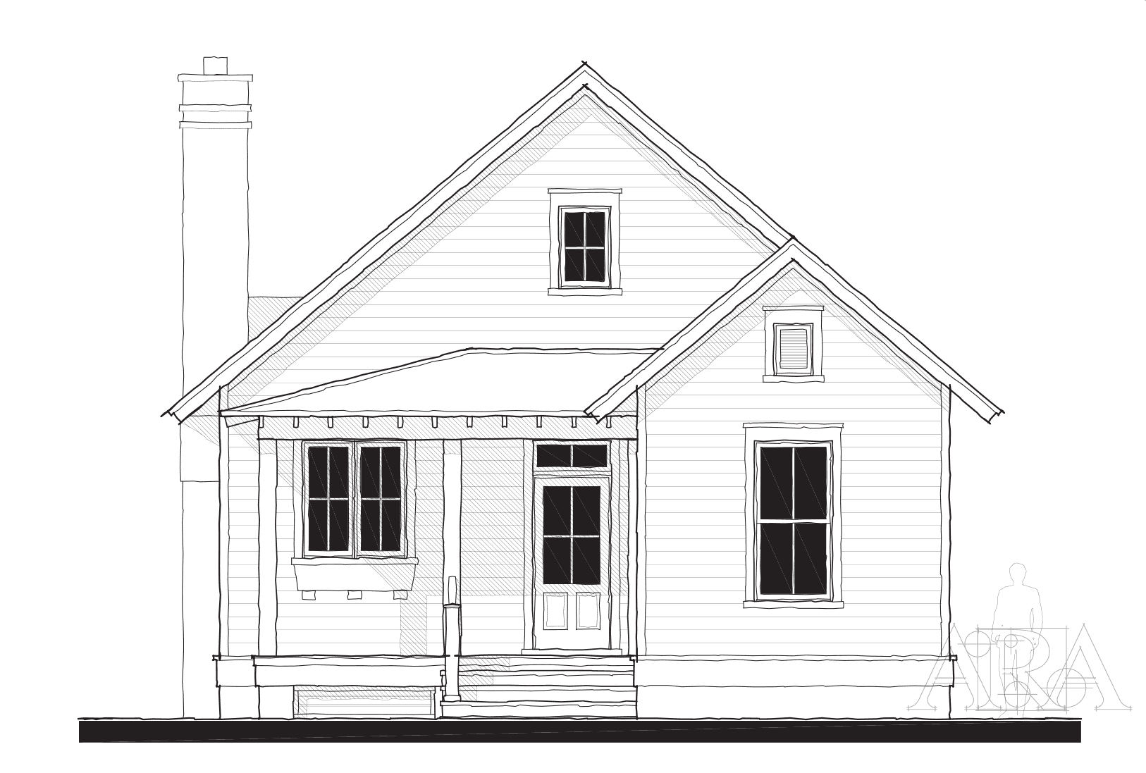 3 Hamlet Row Eddings Pt Elevation Updated