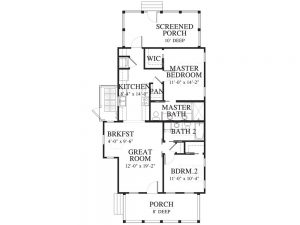 3 Hamlet Row Salt Marsh Floorplan