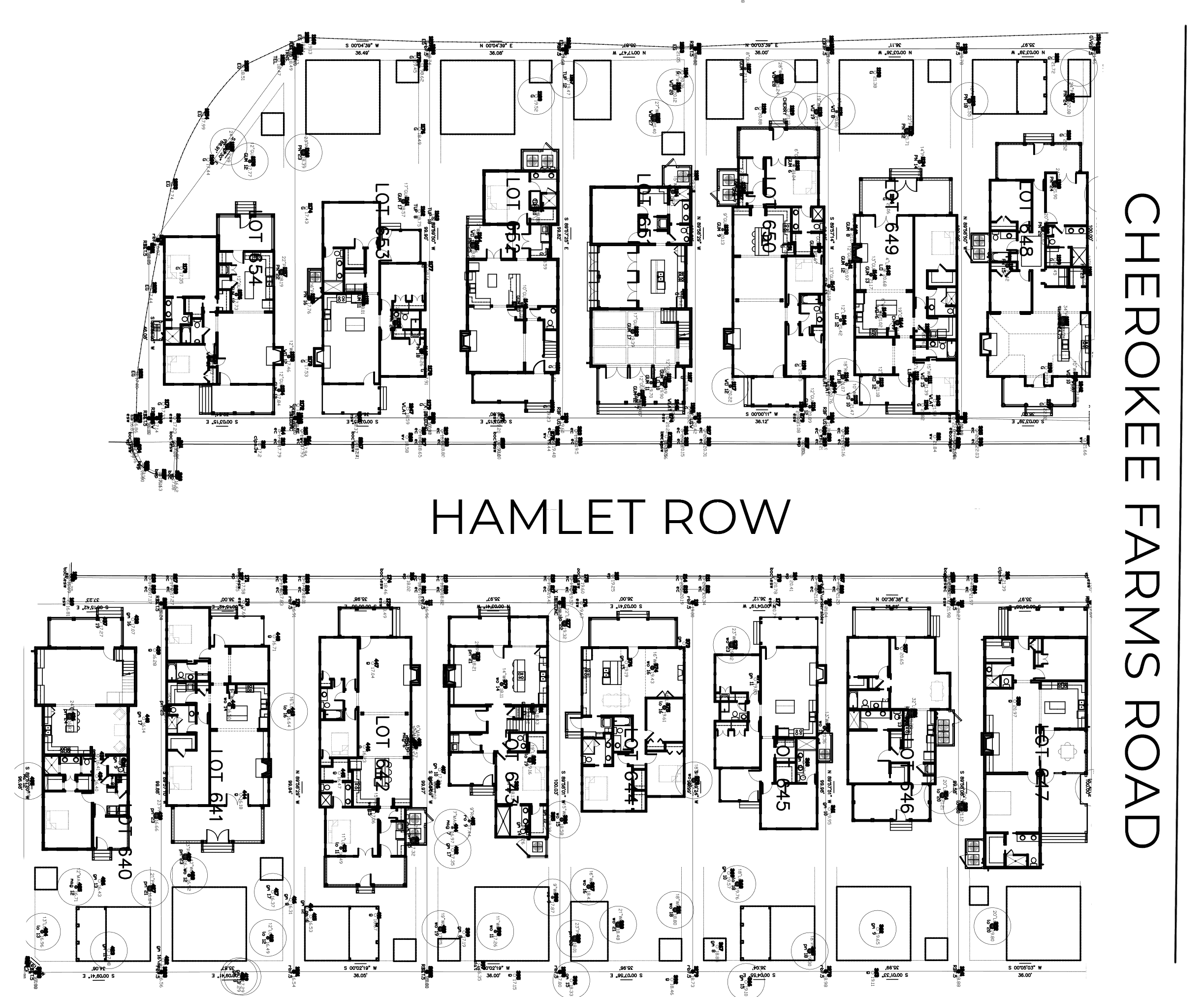 Hamlet Row Street Layout Habesham Sc